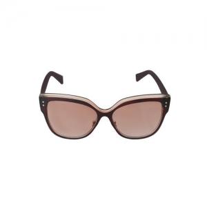 alvaro castagnino brown coloured cateye sunglass