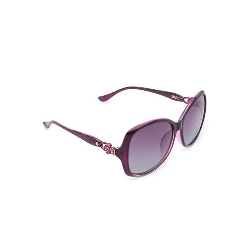 globus violet full rim wayfarer sunglasses