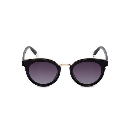 globus black full rim wayfarer sunglasses
