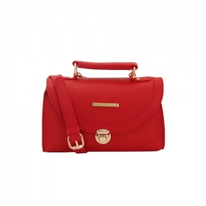 Lapis O Lupo red leatherette (pu) regular sling bag