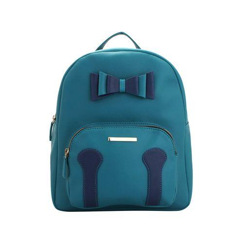 Lapis O Lupo blue leatherette (pu) regular backpack