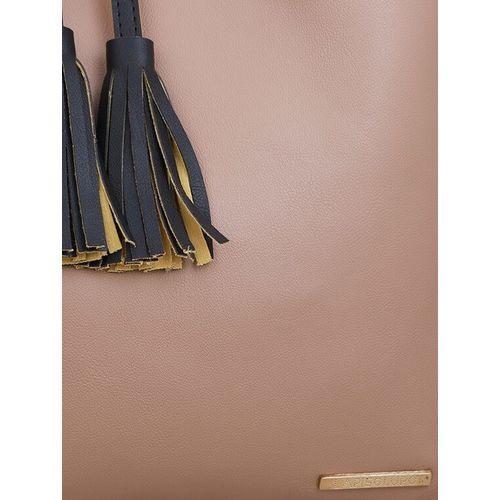 Lapis O Lupo beige leatherette (pu) regular tote