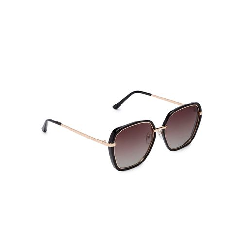 globus brown full rim aviator sunglasses