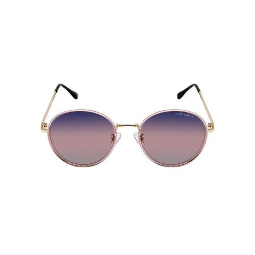 david blake uv protected oval sunglasses