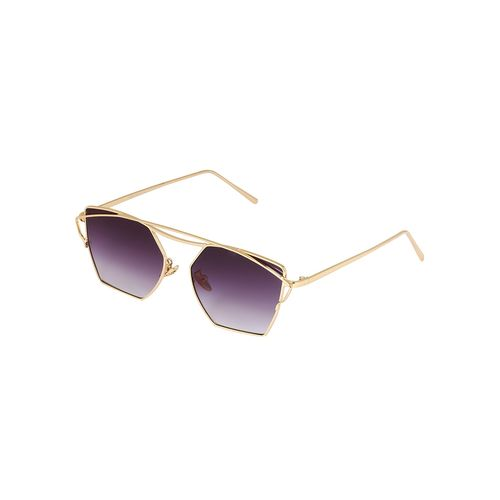 notjustiaras butterfly unisex sun glasses brown ombre uv protected lenses - (obsession)