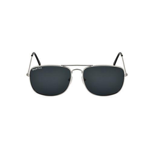 royal son uv protected square sunglasses for women (rs0038av|58|black lens)