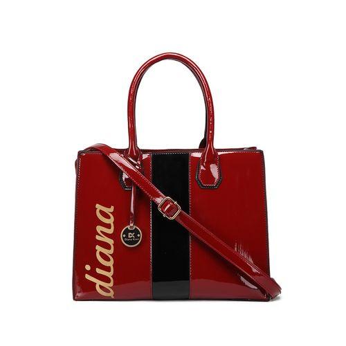 Diana Korr red leatherette (pu) regular handbag