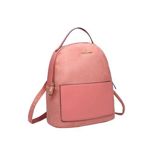 Diana Korr pink leatherette regular backpack