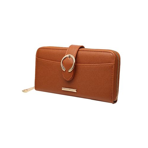 Diana Korr brown leatherette wallet