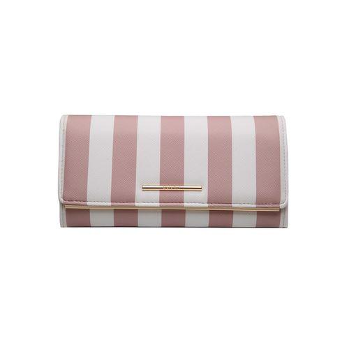 Diana Korr pink leatherette wallet