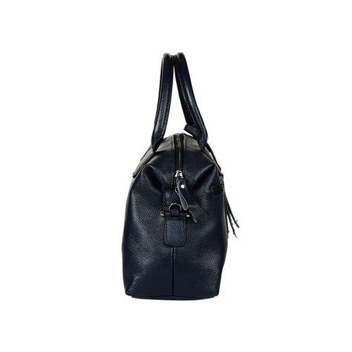 Fiona Trends blue leatherette handbag