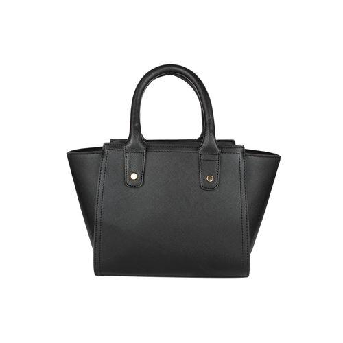 Fiona Trends black leatherette regular sling bag