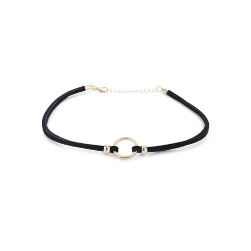 KAZO gold metal choker necklace