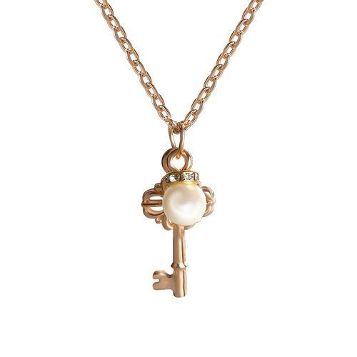 Skylofts gold metal pendant