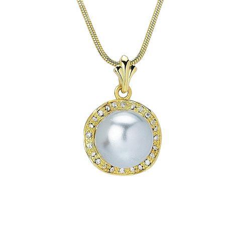 Apriati. gold plated pendant