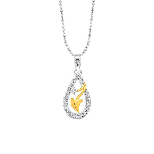Vighnaharta silver metal pendant
