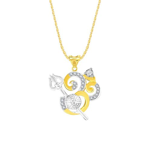 VK Jewels gold metal pendant