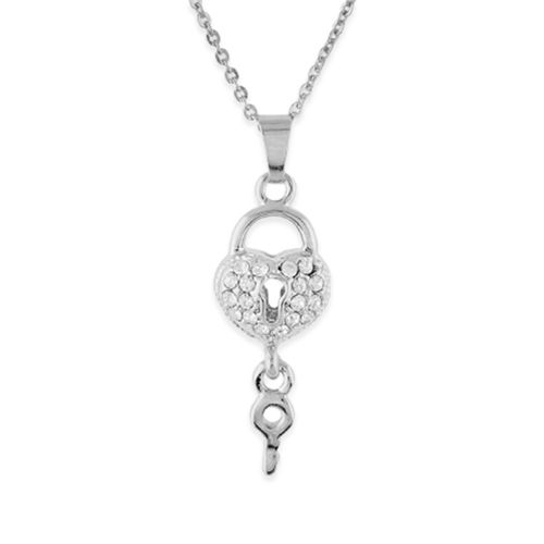 One Stop Fashion silver metal pendant