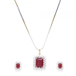 Panash gold metal chain necklace