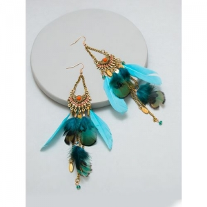 Pipa Bella blue drop earring