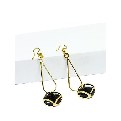 V&M drop earrings