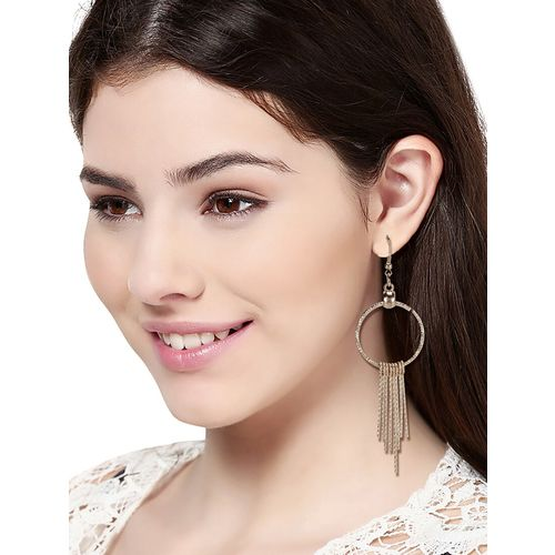 Skylofts gold plated drop earring