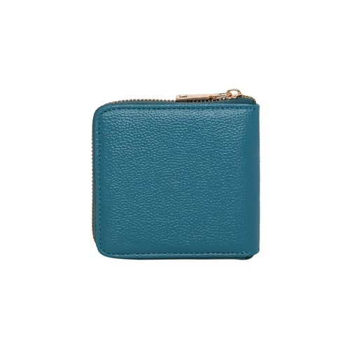 Kleio green leatherette (pu) wallet