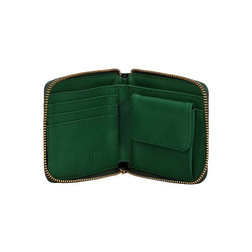 Kleio green leatherette (pu wallet