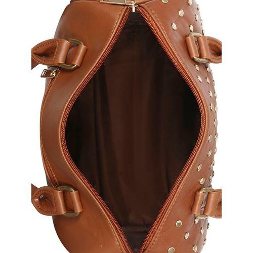 Toteteca brown leatherette regular handbag