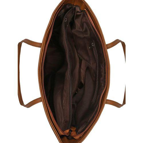 Toteteca blue leatherette (pu) regular handbag