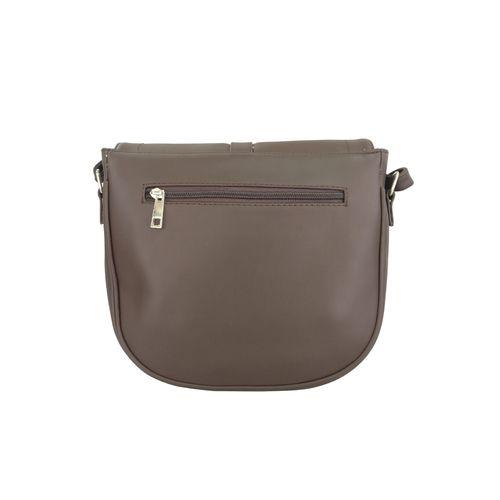 Toteteca grey leatherette regular sling bag