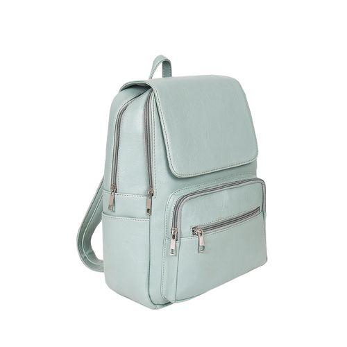 Toteteca green leatherette (pu) regular backpack