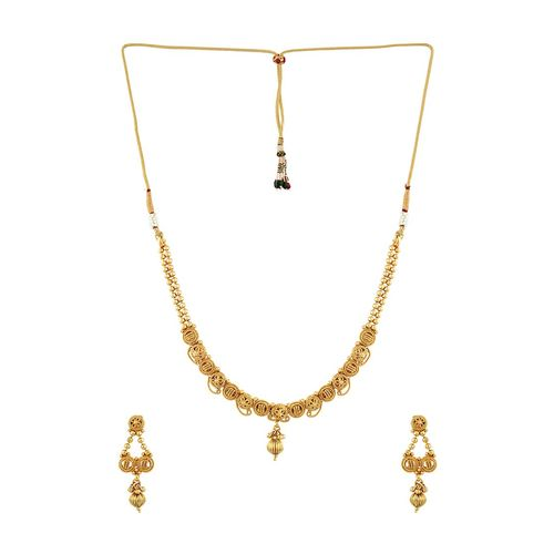 Sia Art Jewellery gold metal other necklace