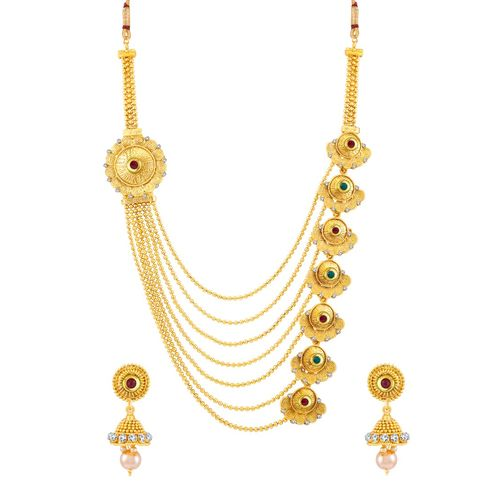 Sukkhi gold plated set