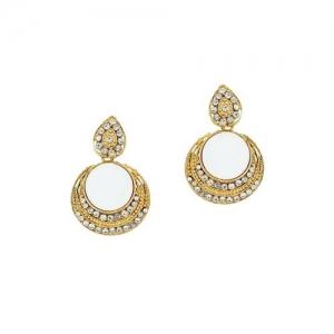 Jewels Guru gold tone earrings