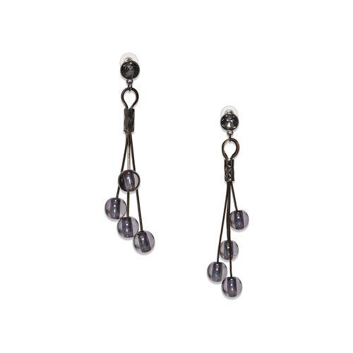 Couper & Coll black metal drop earring