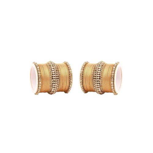 Leshya gold metal bangle