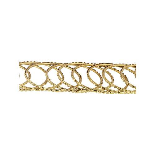 Adwitiya gold plated bangles