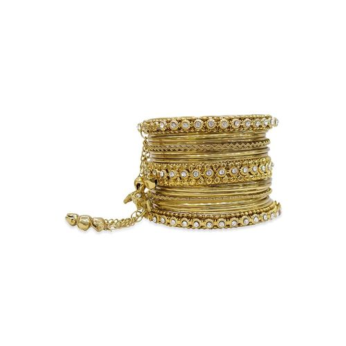 MUCH MORE gold metal bangle