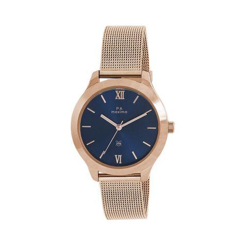 Maxima round dial analog watch-52730cmlr