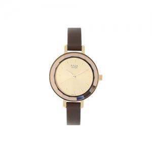 titan raga viva analog rose gold dial women's watch-2575wl01