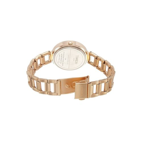 timex gold dial watch for women - tw000x209