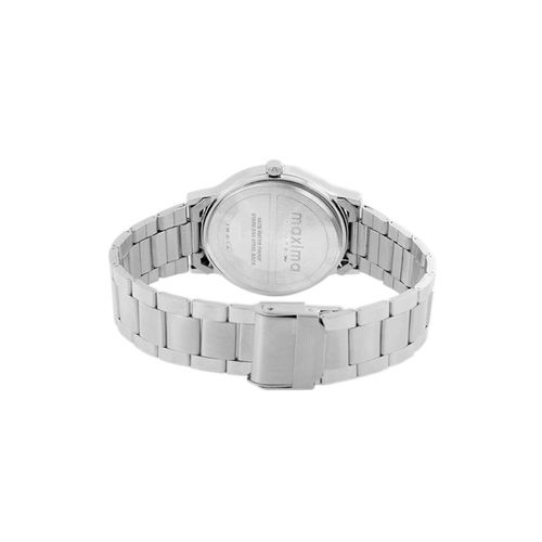 maxima silver analog watch for women - 48270cmgi