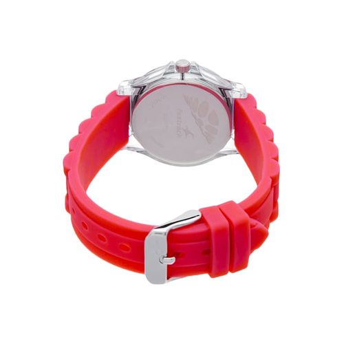 fastrack white dial watch for women - 9827pp07