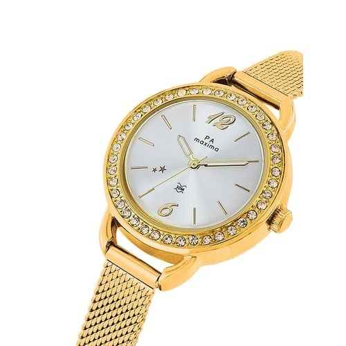 Maxima round dial analog watch-53041cmly