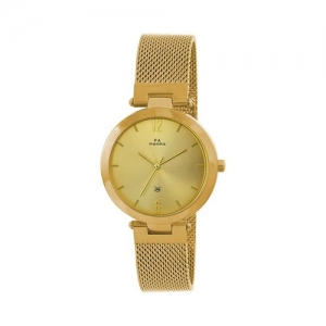Maxima round dial analog watch-52200caly