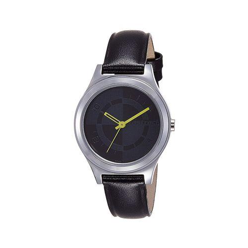 fastrack analog grey dial women's watch -6152sl01