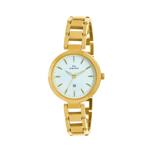 Maxima round dial analog watch-55854bmly