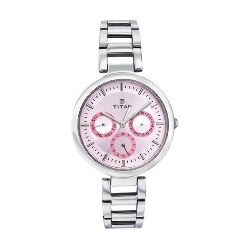 titan 2480sm05 tagged analog watch - for women