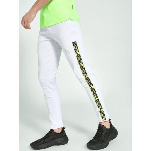 K Denim KOOVS Side Tape Cropped Skinny Jeans